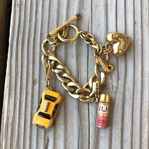 Juicy Couture Bracelet Taxi & Hairspray Charms!
